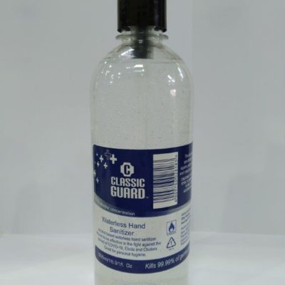 500ml Waterless Gel Pump Sanitizer