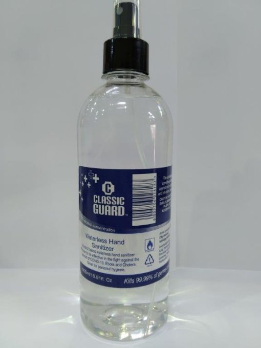 500ml Waterless Spray Sanitizer