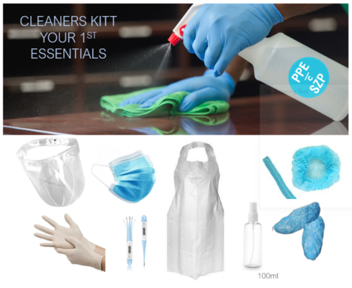 Cleaners Kit COVID-19 Essentials