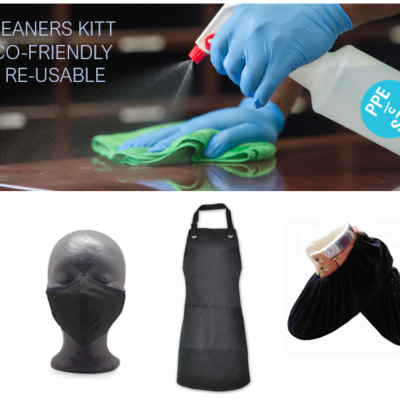 Cleaners Kit Eco-Friendly and Re-usable