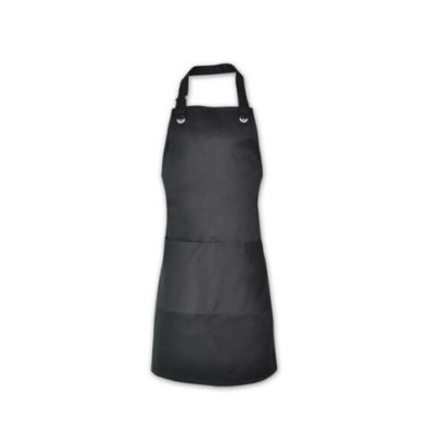 REUSABLE Black Apron