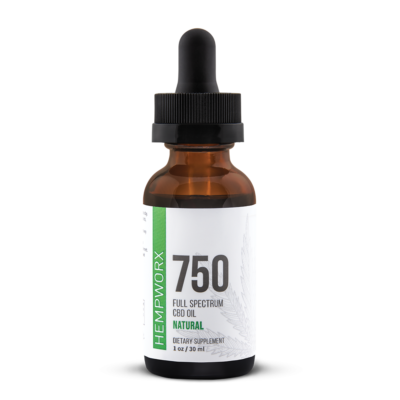 750mg Full Spectrum CBD Oil