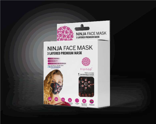 Ladies Fashion Reusable Mask